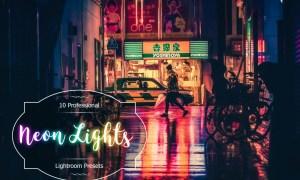 Neon Lights Lr Presets