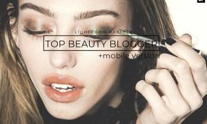 20 Top Beauty Blogger Lightroom Presets