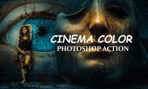 Cinema Color - Photo shop Action