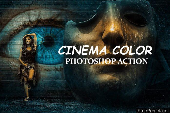 Cinema Color - Photo shop Action