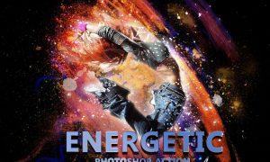 Energetic Photoshop Action 3277723