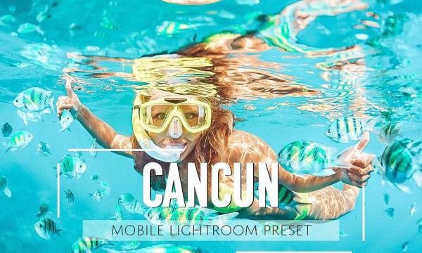 Mobile Lightroom Preset Cancun 2859154