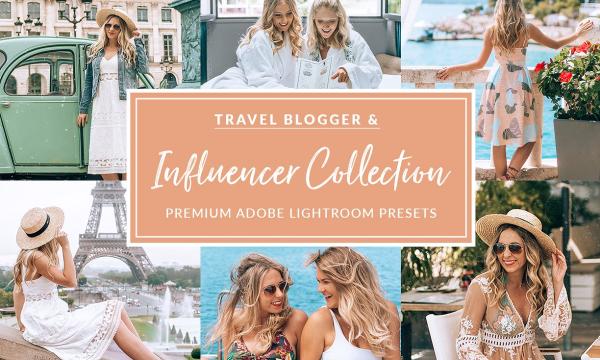 The Travel Influencer Lightroom Pack 2881213