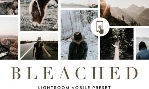 Bleached Lightroom Mobile Presets