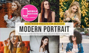 Modern Portait Presets Lightroom 2968037