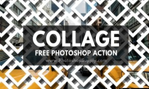 10 Collage Photoshop Actions