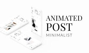 ANIMATED Instagram Minimalist Post 3325735