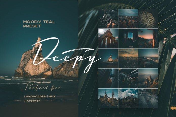 Deepy Moody Teal Lightroom preset 3564962