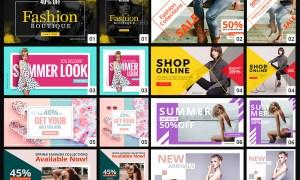Facebook & Instagram Fashion Banners 23330196