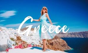 Greece Lightroom Presets Pack 3632848