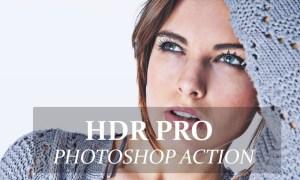 HDR Pro - Photo shop Action 3258116