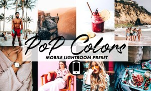 Mobile Lightroom Preset POP COLORS 3395808