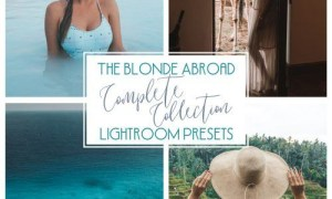 The Blonde Abroad Complete Collection Lightroom Presets