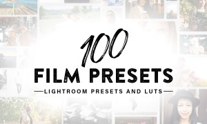 100 Film Lightroom Presets and LUTs 3651097