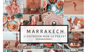 5 Mobile Lightroom presets MARRAKECH 3591380