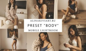 Alina Kiviart - Body Lightroom & Mobile Presets