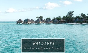 Desktop Lightroom Presets MALDIVES 3622046