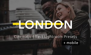 London - Cinematic Lightroom Presets WAL9FDX