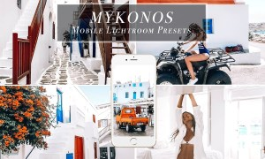 Mobile Lightroom Presets - Mykonos 3471923