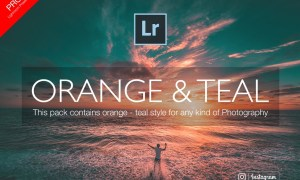 Orange & Teal Lightroom Presets 2128445