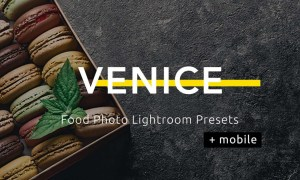 Venice - Food Photo Lightroom Presets TXNGFBJ