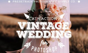 Vintage Wedding Action for Photoshop 3524265