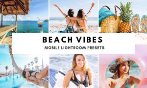 Beach Vibes Mobile Lightroom Presets 3597836