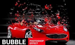 Bubblum - Bubble Generator Photoshop Action EZSCFL