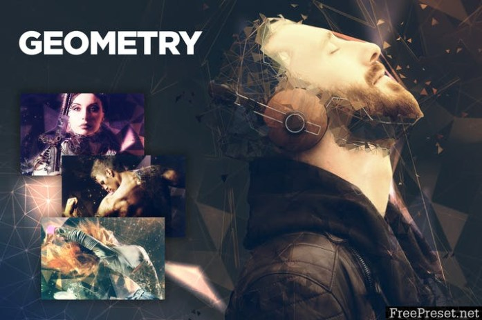 Geometry CS4+ Photoshop Action CALBV7D