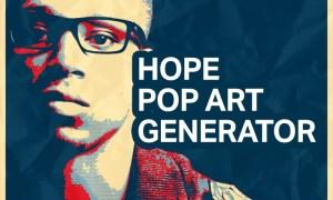 Hope Pop Art Generator PZ5D8J