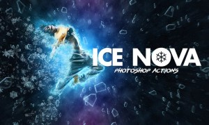 Ice Nova- Photoshop Action XWPMGQ