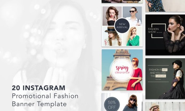 Instagram Promotional Banner Template  4JZWMW [PSD]