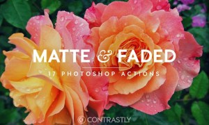 Matte & Faded Photoshop Actions - ATN