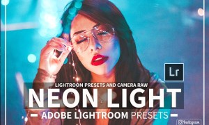 Neon Light Lightroom Presets 2390145