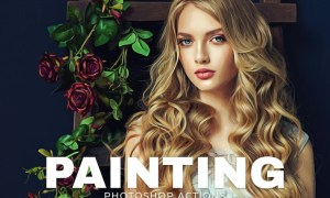 Painting Photoshop Actions K8P8DF