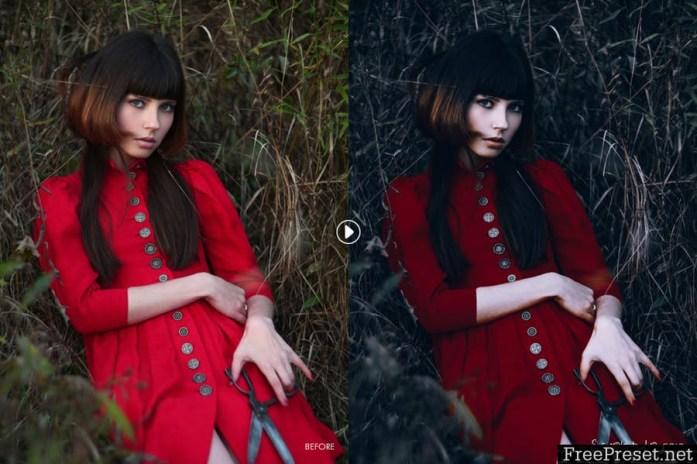Scarlet Fantasy Lightroom Presets HV84HQ
