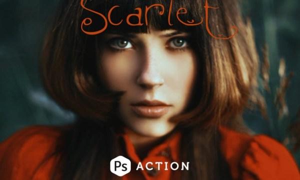 Scarlet Fantasy Photoshop Action Y3XNUR