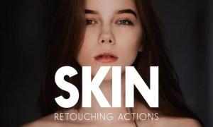 Skin Retouching Actions U8PKXN