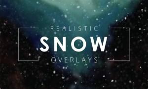 Snow Overlays - PNG, PSD, JPG