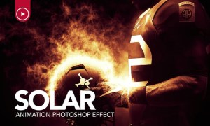 Solar Animation Photoshop Action MVF3VT