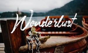The Wonderlust Lightroom Collection  BBFUQH