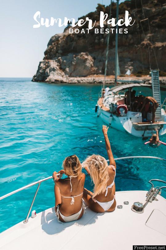 Travel in Her Shoes - Summer Pack DESKTOP Presets