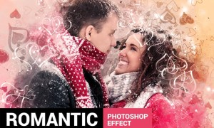 Valentinum - Sweethearts Photoshop Action 44BZX2