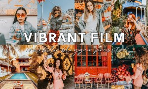 Vibrant Blogger Lightroom Presets 3796373