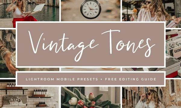 Vintage Lightroom Mobile Presets 3763286