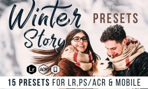 Winter Story Presets for Desktop and Mobile C3TZCY