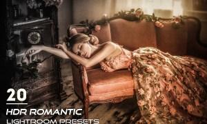 20 HDR Romantic Lightroom Presets 3841305