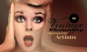 6 Vintage Photo Actions L4NG7A