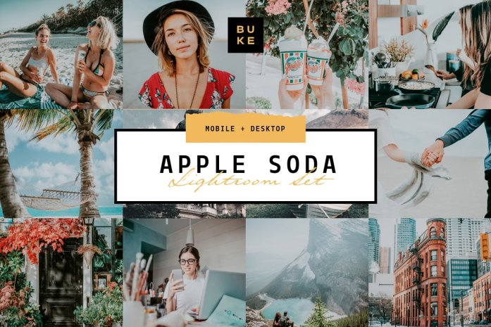 Apple Soda Lightroom Preset 3831729