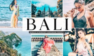 Bali Mobile & Desktop Lightroom Presets